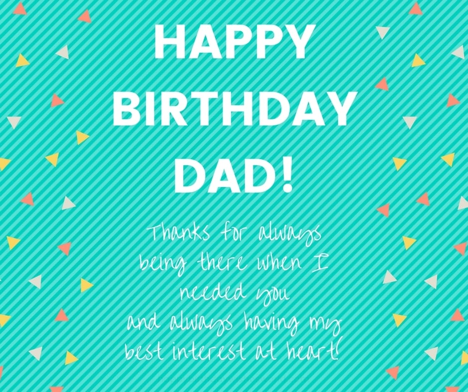 200 Ways To Say Happy Birthday Dad Funny And Heartwarming Wishes