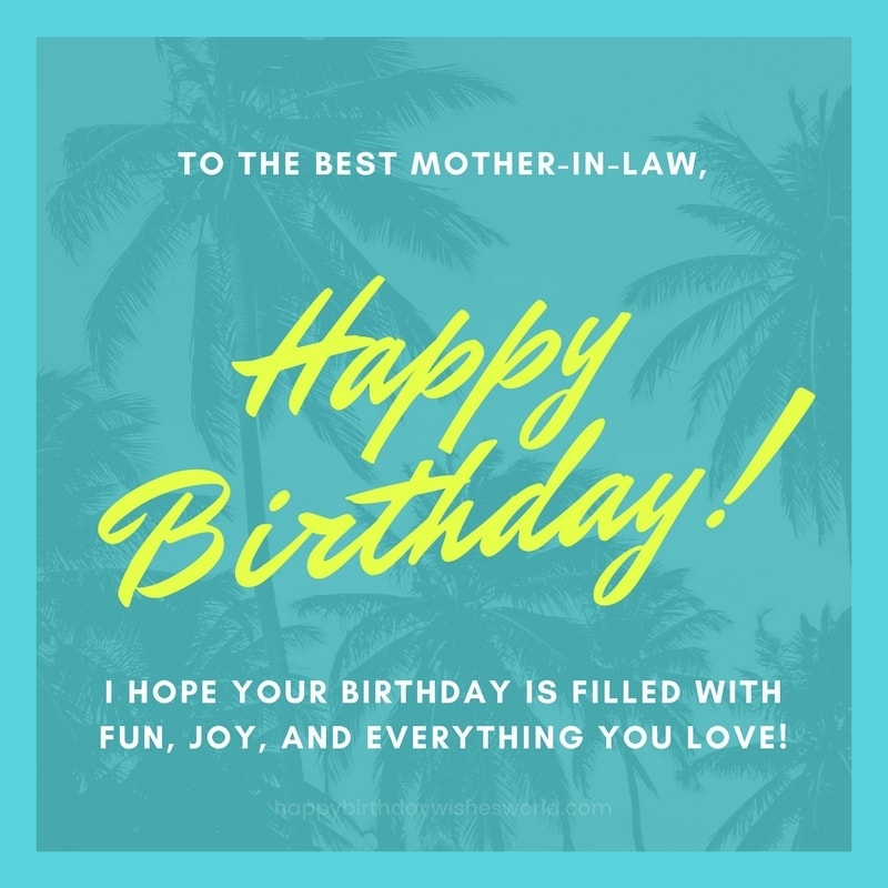 120 happy birthday mother in law wishes find the perfect birthday wish to the best mother in law happy birthday m4hsunfo