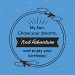 Birthday wishes for sons