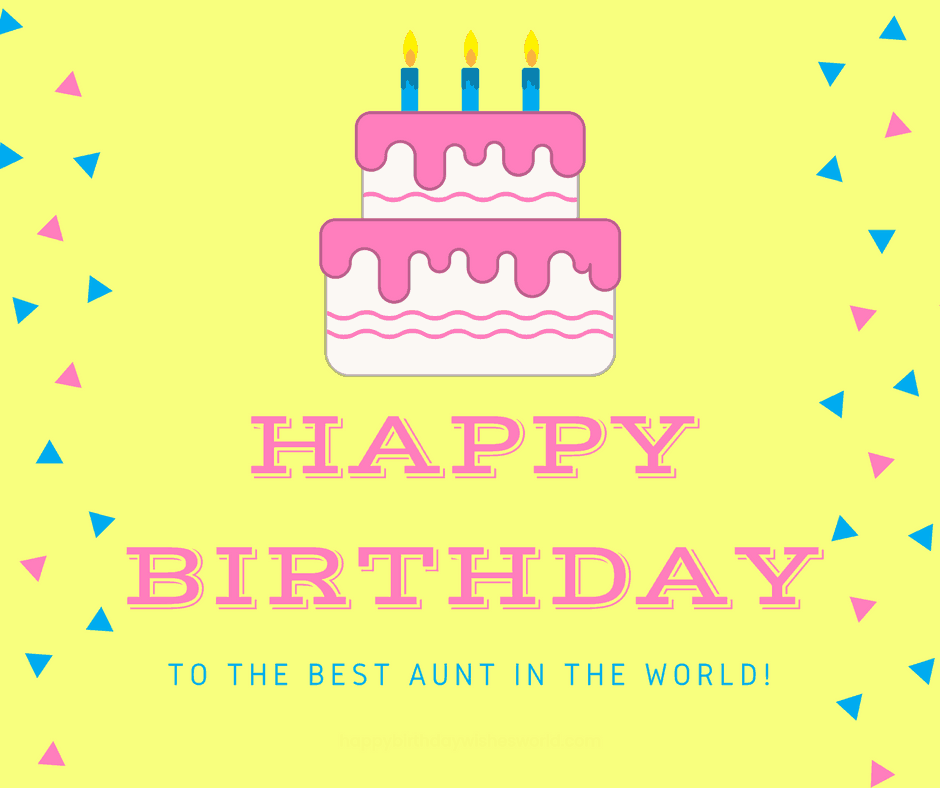 120 Ways to Say Happy Birthday Aunt - Find your perfect