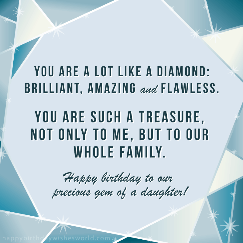 to my grown up daughter
