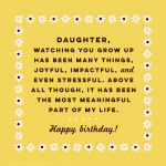 100 Birthday Wishes for Daughters