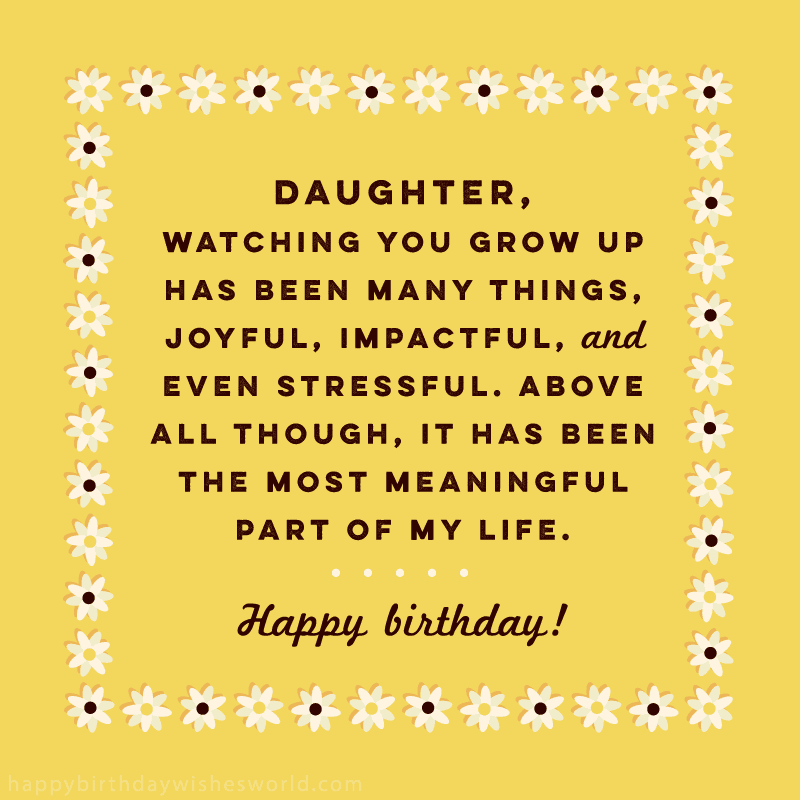 Superb 100 Birthday Wishes For Daughters Find The Perfect Birthday Wish Personalised Birthday Cards Paralily Jamesorg