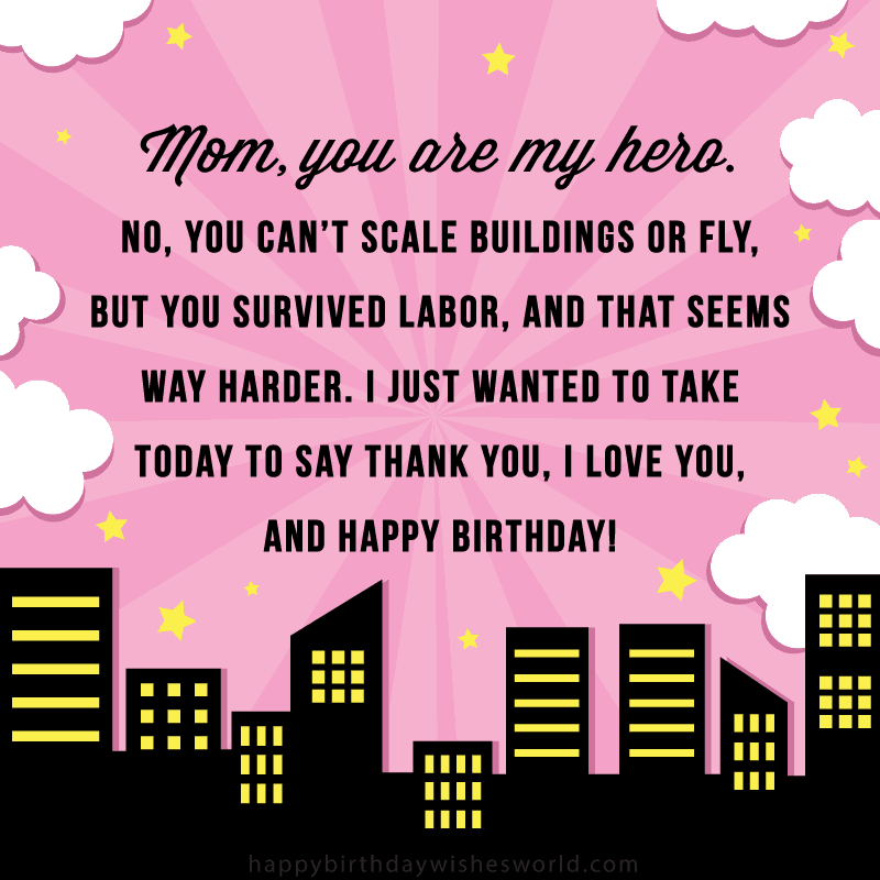 Astounding 210 Ways To Say Happy Birthday Mom Funny And Heartfelt Wishes Personalised Birthday Cards Paralily Jamesorg