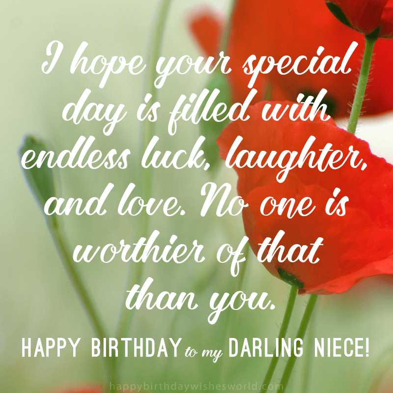 I Hope Your Special Day Is Filled With Endless Luck Laughter And Love
