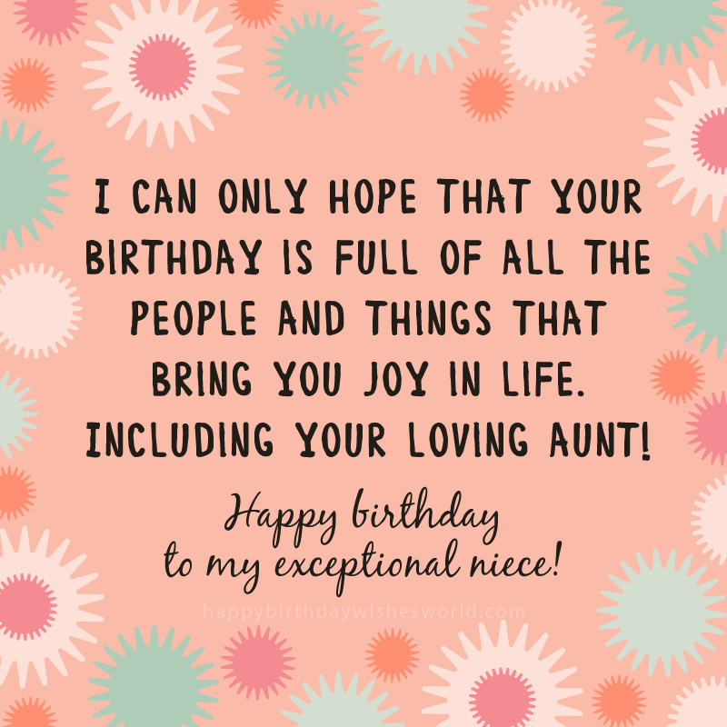 215 Ways To Say Happy Birthday Niece Find The Perfect Birthday Wish