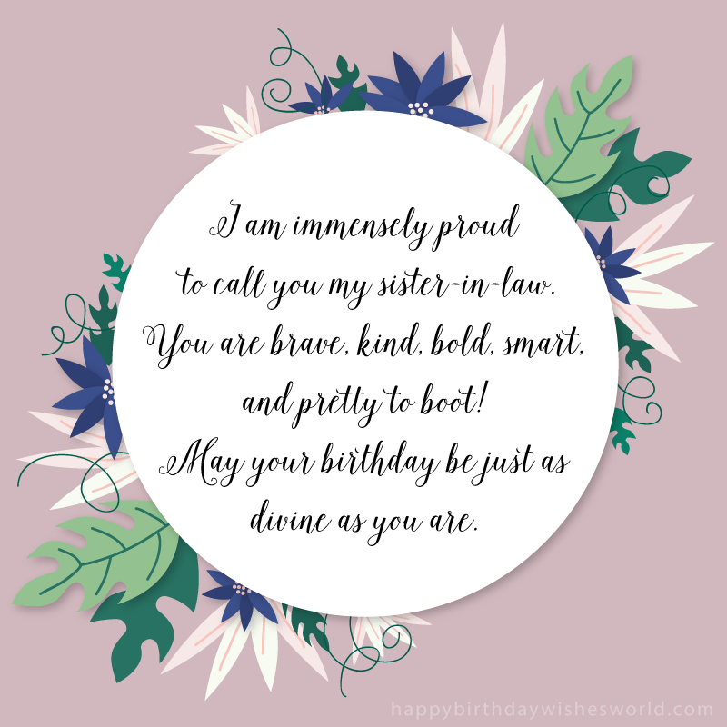 Sister In Law Quotes | 210 Ways To Say Happy Birthday Sister In Law The Only List You Ll Need